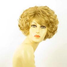 Perruque femme courte blond doré MARILOU 24B