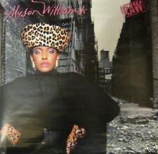 Alyson Williams Raw, Cbs promotional poster, 1989, 23x23, Vg+, R&B