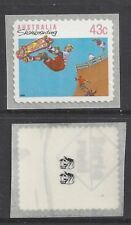 Reprint Stamps 43c Skateboarding Self Adhesive 2K