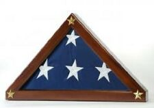 Burial Flag (5 x 9.5 ft.) Display Case for Memorial Federal Flag