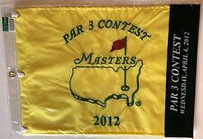 2012 Masters par 3 flag augusta national contest golf new pga