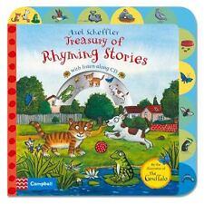 Axel Scheffler Treasury of Rhyming Stories: Rhyming Stories with CD (Board Book)
