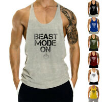 Men's Fashion Tank Top Gym Sport Muscle Vest Fitness Sport Training Stringers
