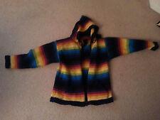 Clothing, Hooded jacket, Multicolor Alpaca, Wool