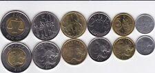 Ethiopia _ set 6 coins 1 5 10 25 50 Cents 1 Byrr 2004 - 2010 UNC Lemberg-Zp