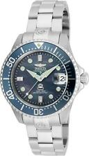 Invicta 38mm Grand Diver Automatic Diamonds Stainless Steel Womens Watch-22029