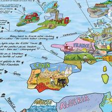 Map, Gift -Surfing|Kitesurfing|Buck etlist|Snowboard|Hiking|Cl imbing|Moutain Bike