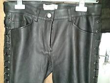Pantalon de cuir Isabel Marant pour H&M - t. 38