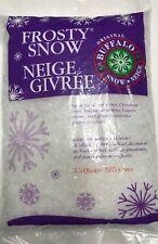 3.5 Qts Buffalo Snow FLAKES Bag Christmas quarts Craft Artificial Fake Village