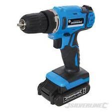 Heavy Duty Silverline 18 V LITIO LI-ON Cordless Trapano Cacciavite Nuovo