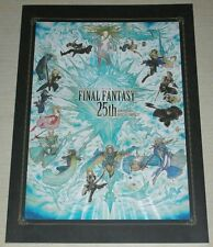 Final Fantasy 25th Anniversary Exhibition Official Pamphlet Art Book SQUARE ENIX