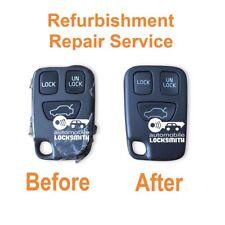 For Volvo V70 S40 V40 C70 S70 3 button remote key Repair Refurbishment Service