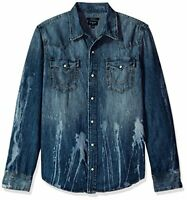 True Religion Men's Ryan Western Shirt
