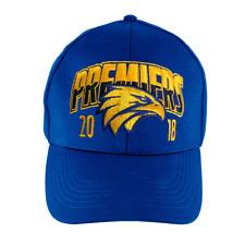 West Coast Eagles AFL Football Mens 2018 Premiers Blue Cap