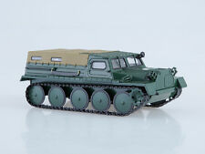GAZ 47 GT-S All-terrain car with cover AutoHistory 1:43