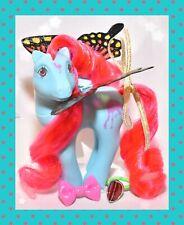 ❤️My Little Pony MLP G1 Vtg FLUTTER PONY Tropical Breeze Flamingo Blue WINGS❤️