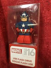 Marvel Captain America 16GB USB Flash Drive keychain eKids NEW