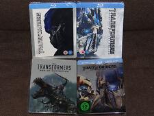 Transformers Collection (1, 2, 3, 4) Quadrilogie Steelbook [Blu-ray] Neu & OVP