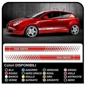 adesivi per ALFA ROMEO giulietta mito GT 147 159 Giulia TUNING ALFAROMEO