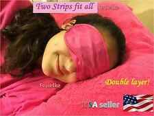 Bed Blindfold soft eyemask sleep aid double layer light protection USA seller +A