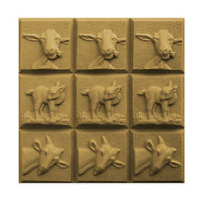 Three Goats Soap Mold. Melt & Pour, Cold Process w/Instructions