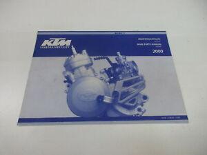 Ktm SX 60 SX 65 Catalogo Ricambi Motore Manuale Spare Parts Manuale 3.208.00