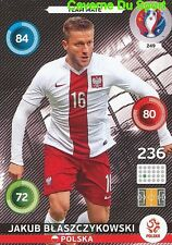 249 JAKUB BLASZCZYKOWSKI POLSKA POLAND CARD ADRENALYN EURO 2016 PANINI