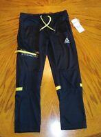 Boys - Reebok Black Athletic Jogging Pants - Brand New - Size 7