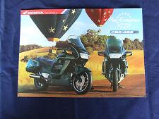 HONDA PAN EUROPEAN ST1100 CBS ABS TCS MOTORCYCLE RANGE BROCHURE 1997