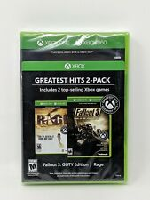 Rage and Fallout 3 GOTY Edition - Xbox One/Xbox 360 Brand New Sealed