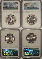 2020 W Samoa & Weir 2 Coin Quarter Set 25c NGC MS 65 Bat Coin V75 privy