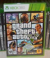 Xbox 360 Grand Theft Auto V 5 GTA5 NEW Sealed REGION FREE USA Racing