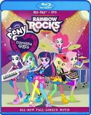New: MY LITTLE PONY EQUESTRIA GIRLS - Rainbow Rocks Blu-Ray + DVD