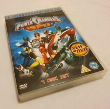 Power Rangers SPD The Complete Series UK DVD Vol Rare 7 Disc set All Episodes!