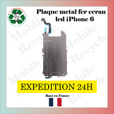 PLAQUE MÉTAL LCD ECRAN HOME BOUTON NAPPE FLEX RALLONGE IPHONE 6 /  FER