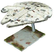 Japan Plamodel BANDAI Star Wars Plastic Model 1/144 Millennium Falcon Last Jedi