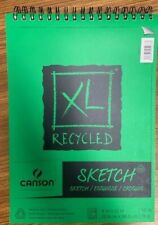 "Spiral Sketch Book - Canson XL Recycled 50lb.  9X12"" 100 Sheets"