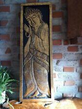 Deko-Skulpturen & -Statuen aus Holz mit Buddha