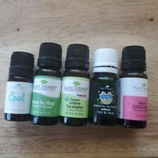 Plant Therapy Essential Oil Lot Lucky Elemi CO2 Cool Eucalyptus Munchy Stop