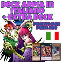 Yu-Gi-Oh! Deck ARPIA - Mazzo Completo 40 carte + EXTRA ITALIANO #MYDECK