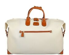 "Bric's Cream Firenze 22"" Cargo Duffel NEVER BEEN USED"