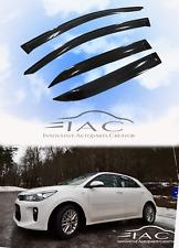 For Kia RIO Hatchback 17-18  Window Visor Vent Sun Shade Rain Guard Door Visor