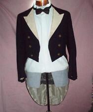 """* vintage / antique Beaufort CHASSE MARINE dîner veste w / queue 1933 38 """"poitrine"""