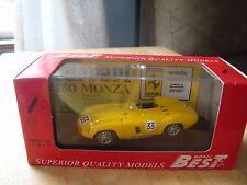 Best 1/43 Scale Metal Model - 9049 FERRARI 750 MONZA SPA 55 YELLOW New In Box