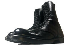 """CORCORAN 1500 Black Leather Paratrooper Military 10"""" Jump Combat Boots 10 D"""