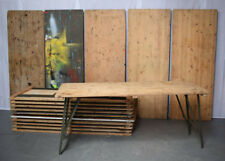 British Army - Military - Wooden Trestle Folding Table
