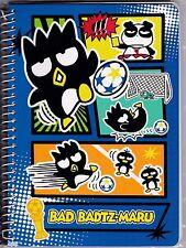 Sanrio Badtz Maru Spiral Notebook Medium