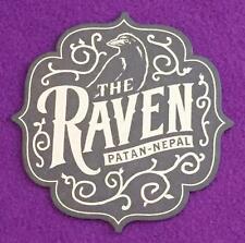 Jock Lindsey's Hangar Bar Coaster - The Raven Patan-Nepal, Indiana Jones Disney