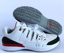 new concept 348bc 7a488 6.5 Mens Nike Zoom Vapor RF X Aj3 Fire White Black Red Tennis Shoes 709998  106