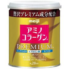 Meiji Amino Collagen Powder Premium Can 200g 28days Drink Supplement From Japan